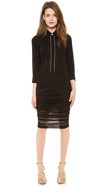 Versace Long Sleeve Blouse