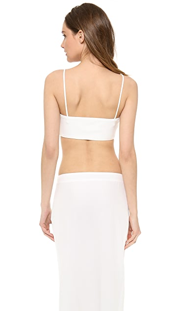 Versace Sleeveless Crop Top
