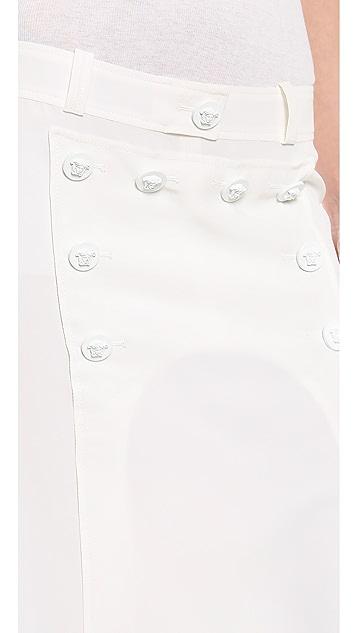 Versace Long Skirt