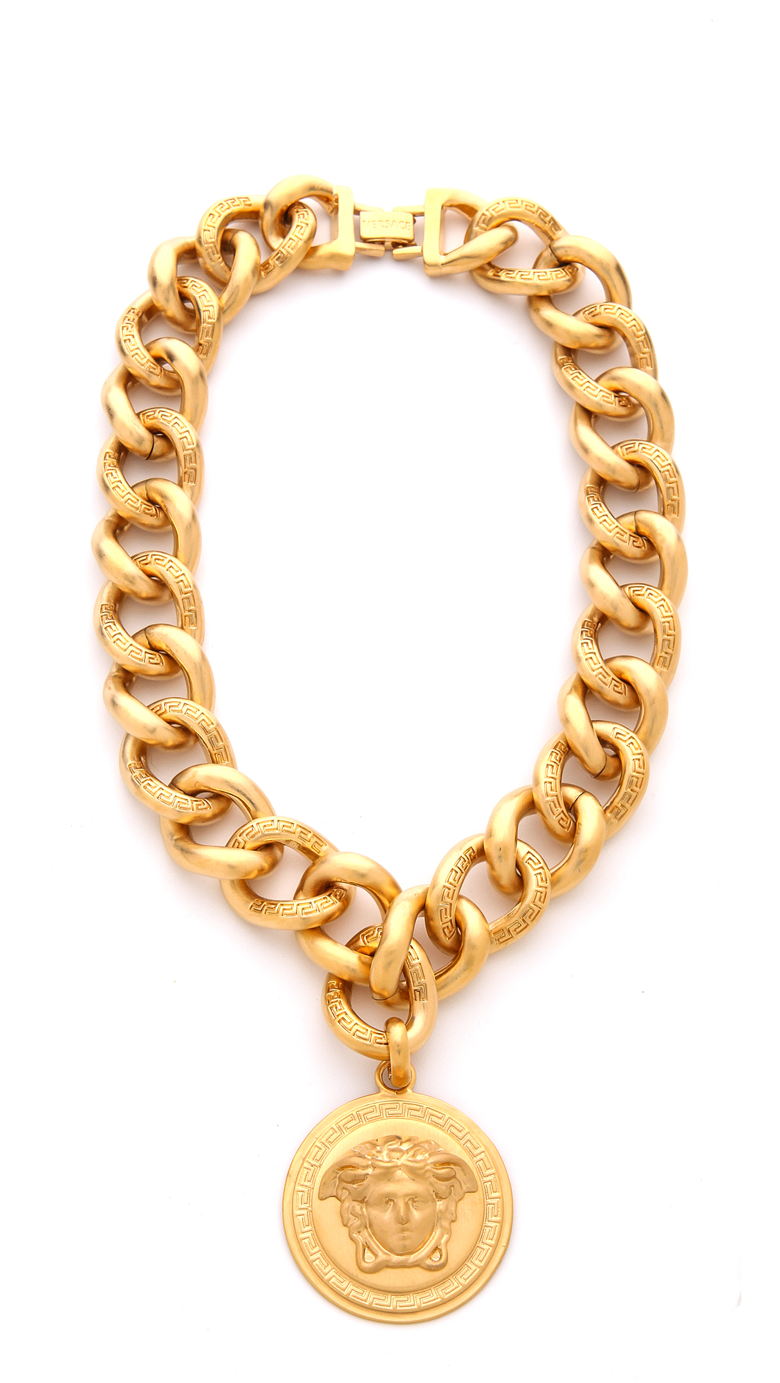Versace medusa necklace shopbop mozeypictures Image collections