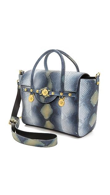 Versace Snakeskin Multi Bag