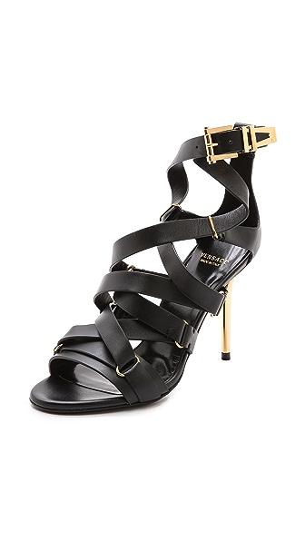 Versace Strappy Heel Sandals