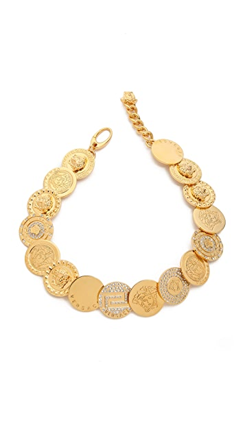 Versace Coin Necklace