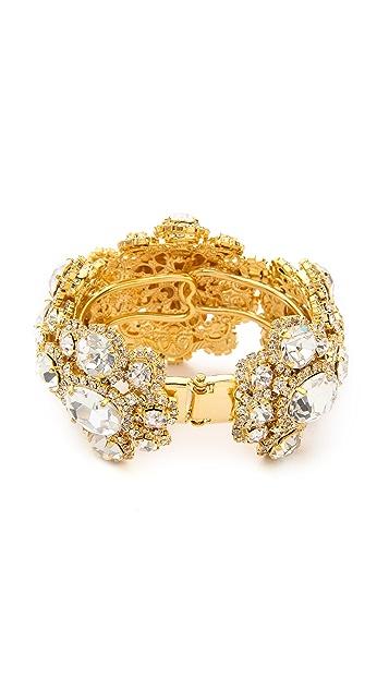 Versace Crystal Encrusted Bracelet