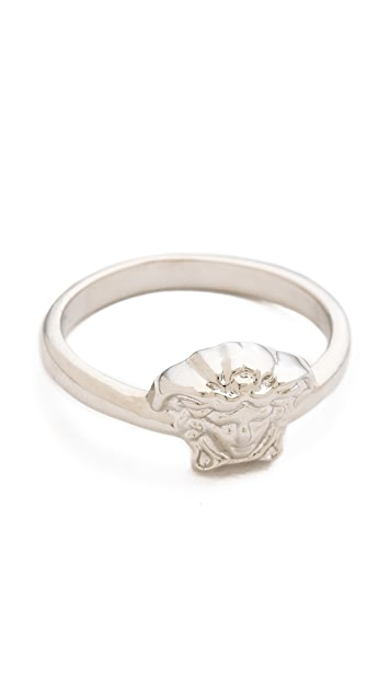 Versace Small Medusa Head Ring