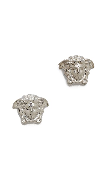 Versace Small Medusa Head Earrings
