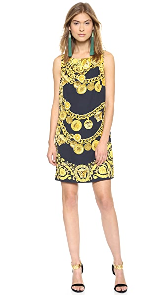 Versace Printed Dress