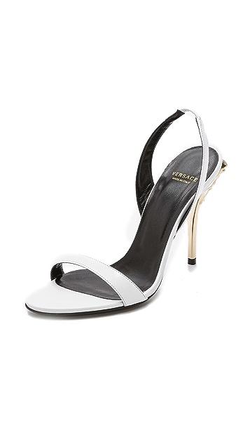 Versace Slingback Heels