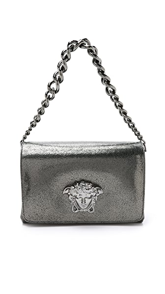 Versace Medusa Shoulder Bag - Anthracite