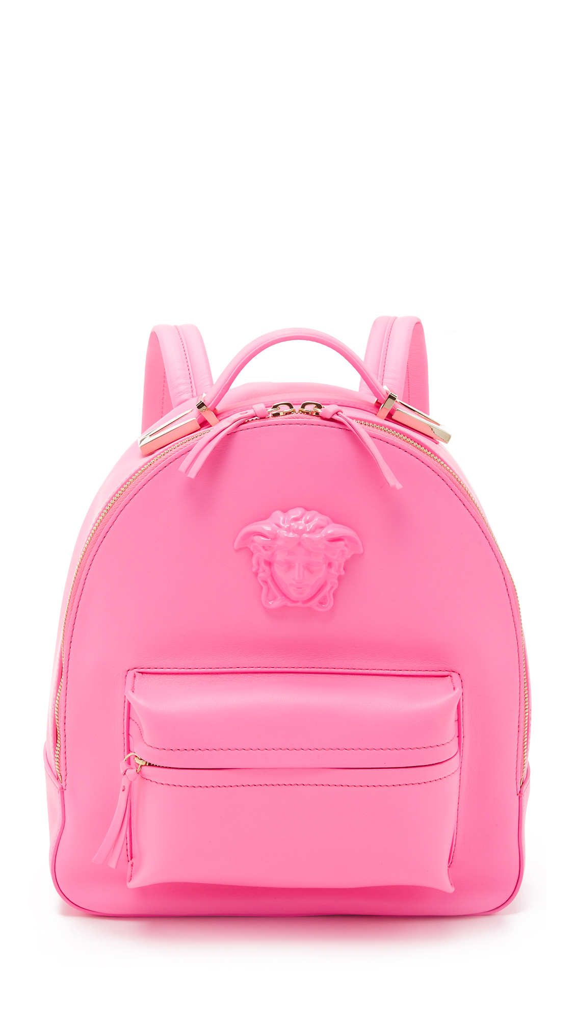 c698784d4c6e Versace Leather Backpack