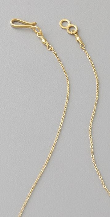 Vanessa Gade Jewelry Inner Circle Crisscross Necklace