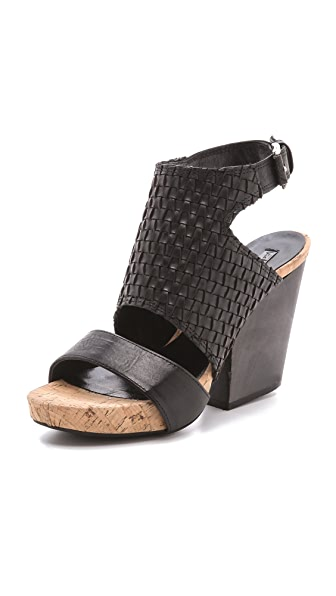 Vic Italy Woven Vamp Sandals