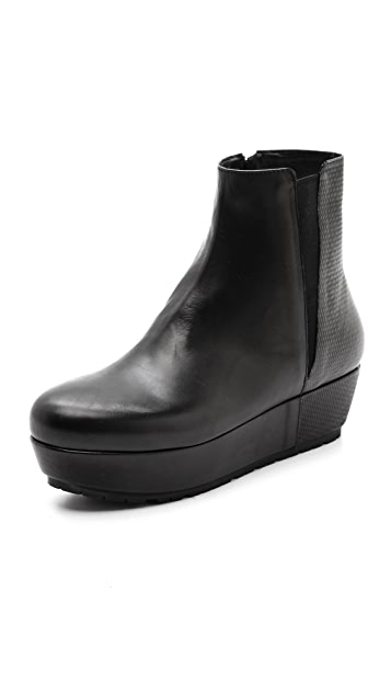 Vic Italy Platform Booties