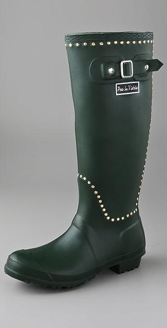 Pour La Victoire Ted Stud Rubber Boots