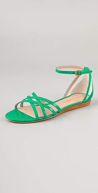 Pour La Victoire Faine Strappy Flat Sandals