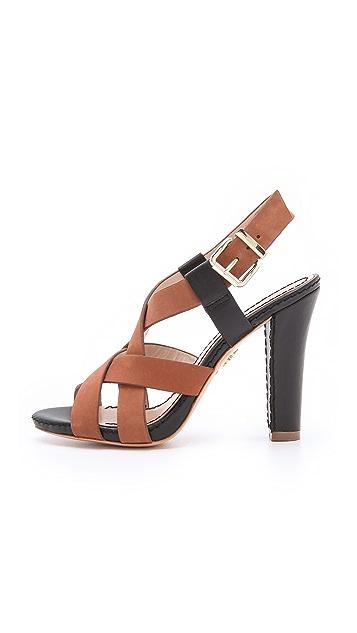 Pour La Victoire Vy Crisscross Sandals