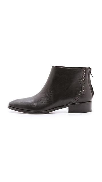 Pour La Victoire Janna Studded Flat Booties