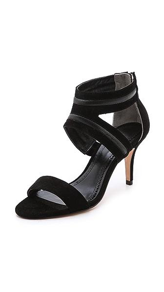 Pour La Victoire Belz Chain Detail Sandals