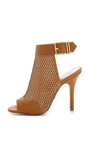 Pour La Victoire York Woven Open Back Sandals