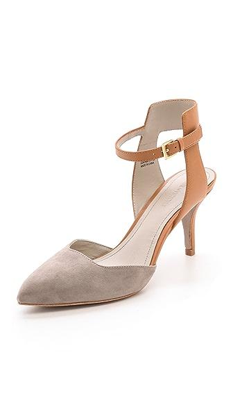 Pour La Victoire Gia Ankle Strap Pumps