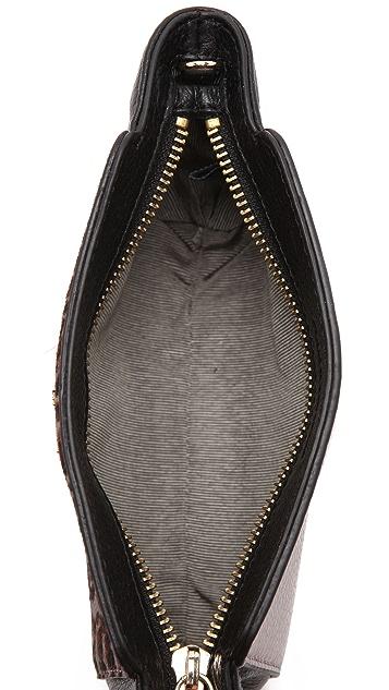 Pour La Victoire Elie Mini Haircalf Cross Body Bag