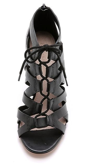 Pour La Victoire Camila Lace Up Sandals