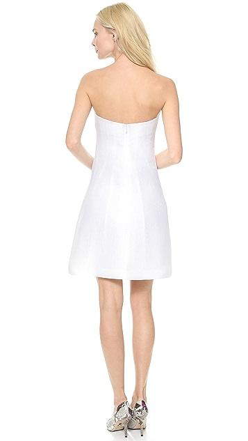 Vika Gazinskaya Fitted Bustier Dress