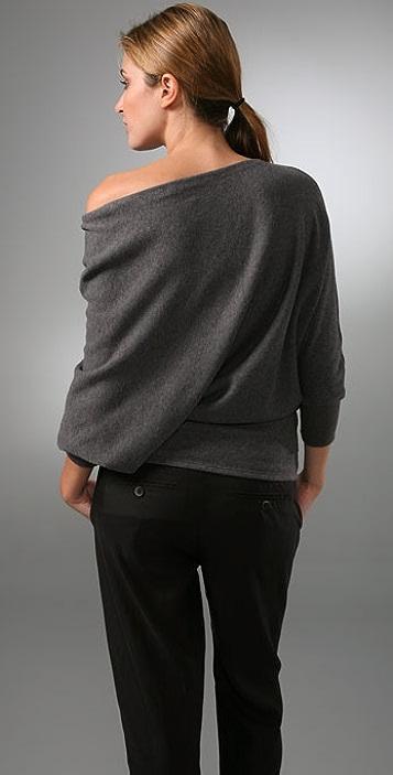 Vince Wedge Tunic Sweater