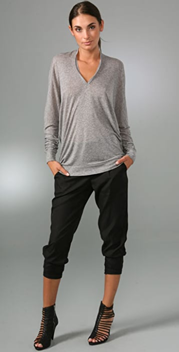 Vince Double V Slouch Top