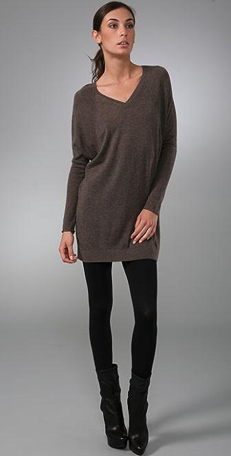 Vince Double V Raglan Cashmere Sweater
