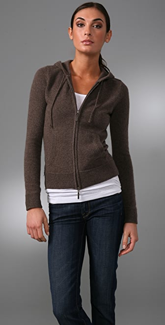 Vince Cashmere Hoodie Sweater