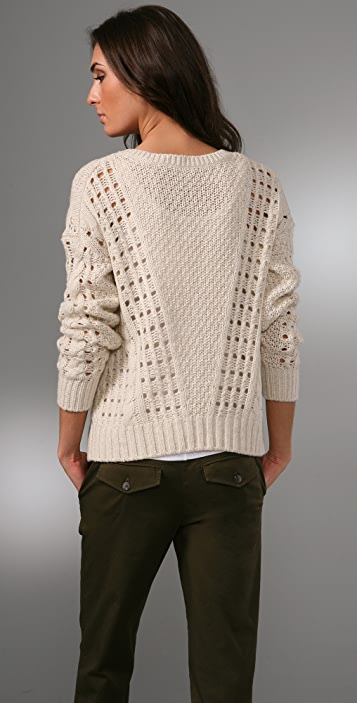 Vince Crop Sweater