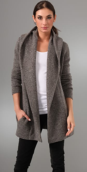 Vince Sweater Coat