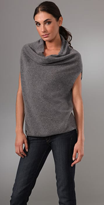 Vince Cowl Circle Cashmere Sweater