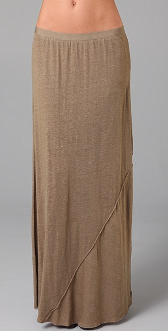 Vince Bias Long Skirt