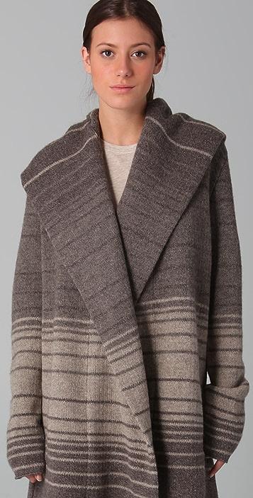 Vince Sophie Striped Sweater Coat Shopbop
