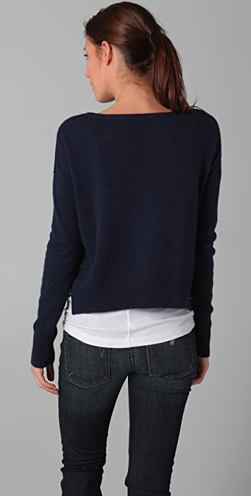 Vince Cropped Sweater