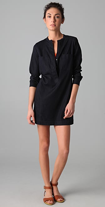 Vince Denim Shirtdress
