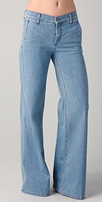 Vince Fonda High Waisted Trouser Jeans | 15% off first app ...