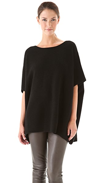 Vince Short Sleeve Poncho