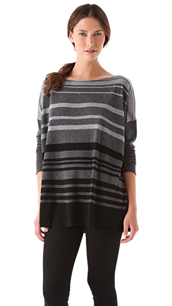Vince Variegated Stripe Sweater