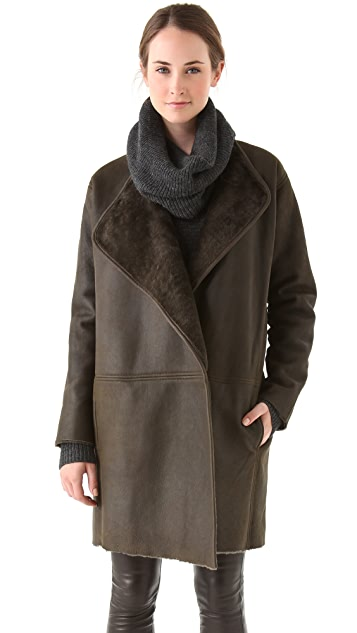 Vince Shearling Coat