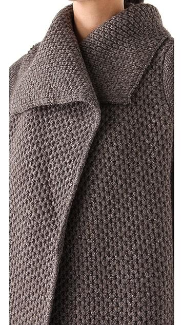Vince Honeycomb Knit Jacket