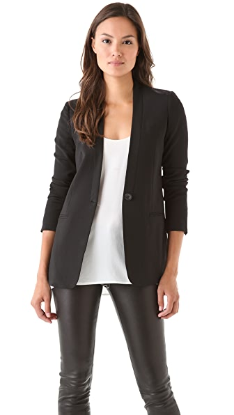 Vince Collarless Blazer
