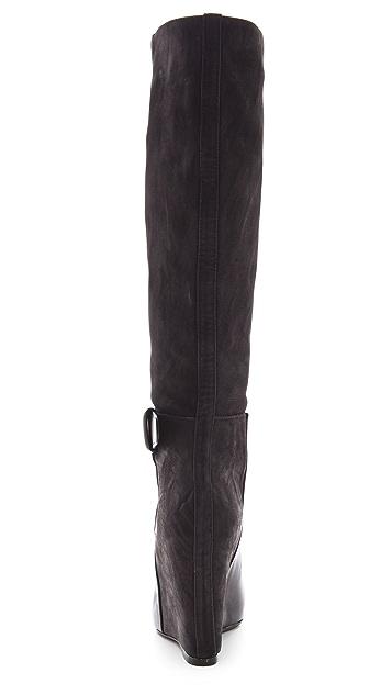 Vince Greta Wedge Boots
