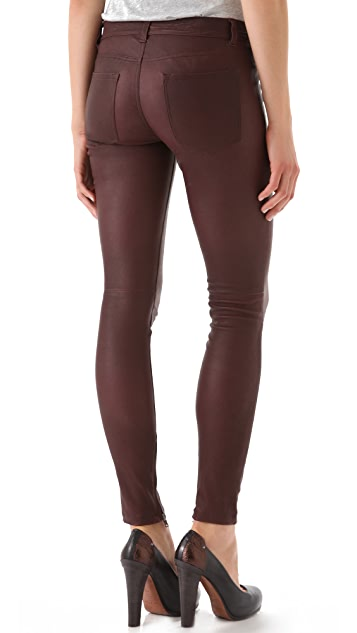 Vince Washed Leather Pants