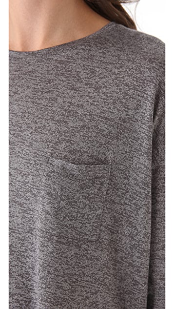 Vince Shirttail Pocket Tee