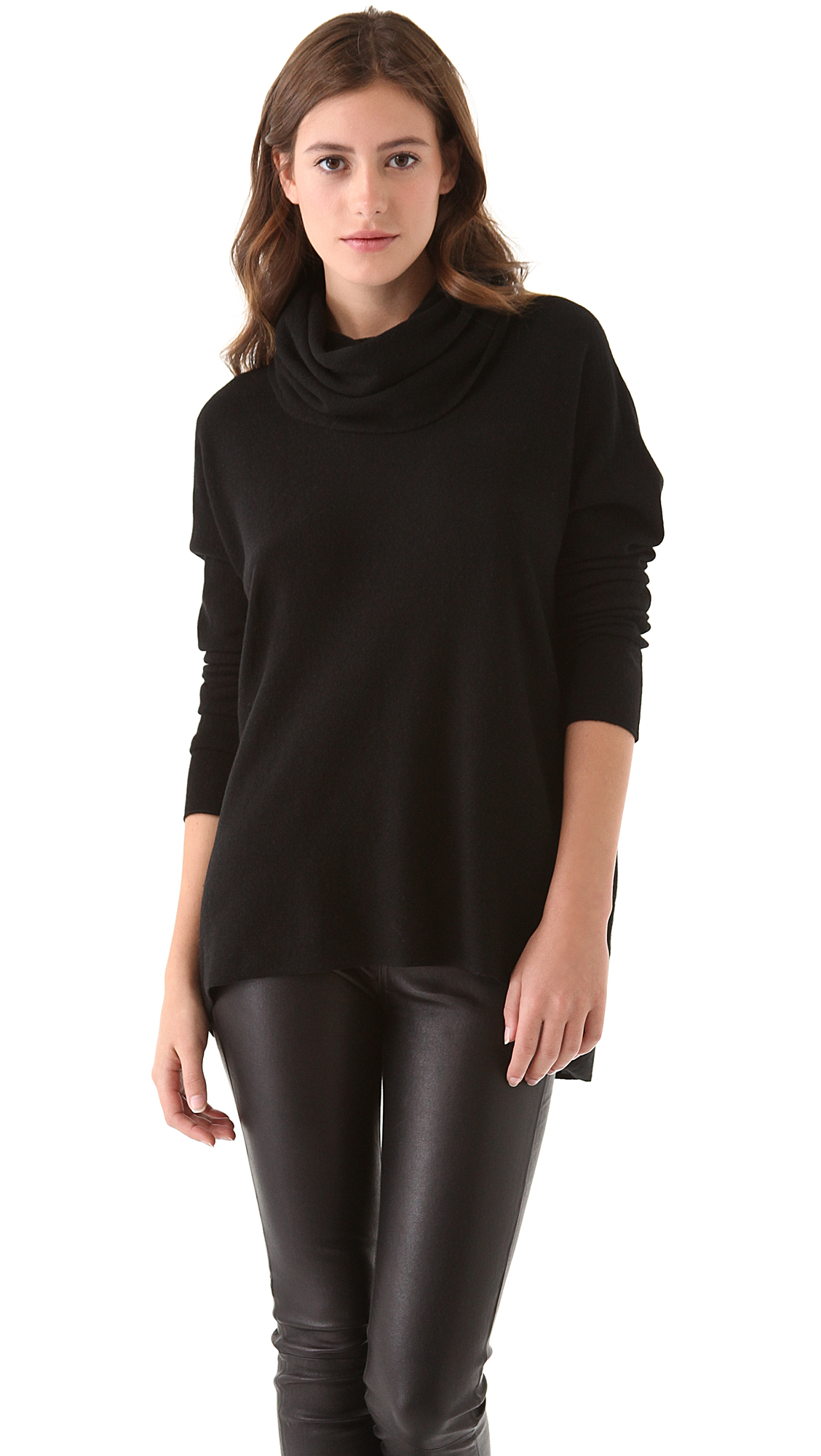 Vince Cowl Neck Cashmere Sweater | SHOPBOP