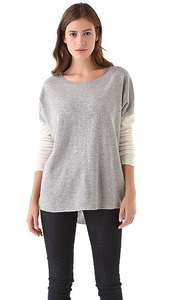 Vince Colorblock Crew Sweater