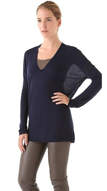 Vince V Neck Sweater